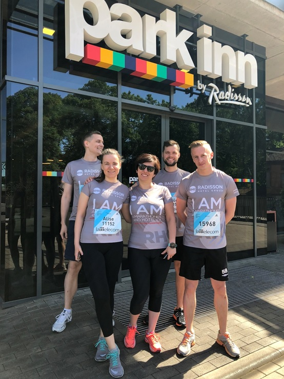 park inn riga running team