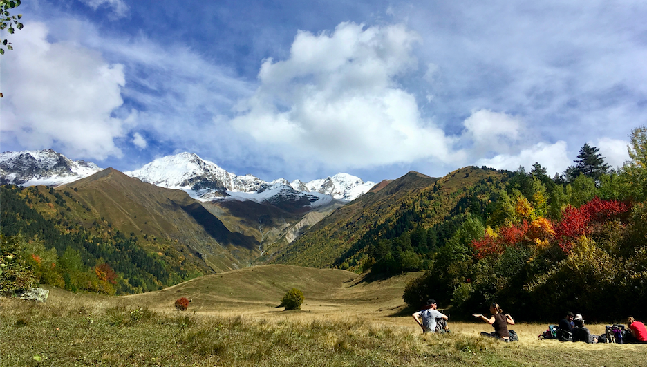 escape to svaneti
