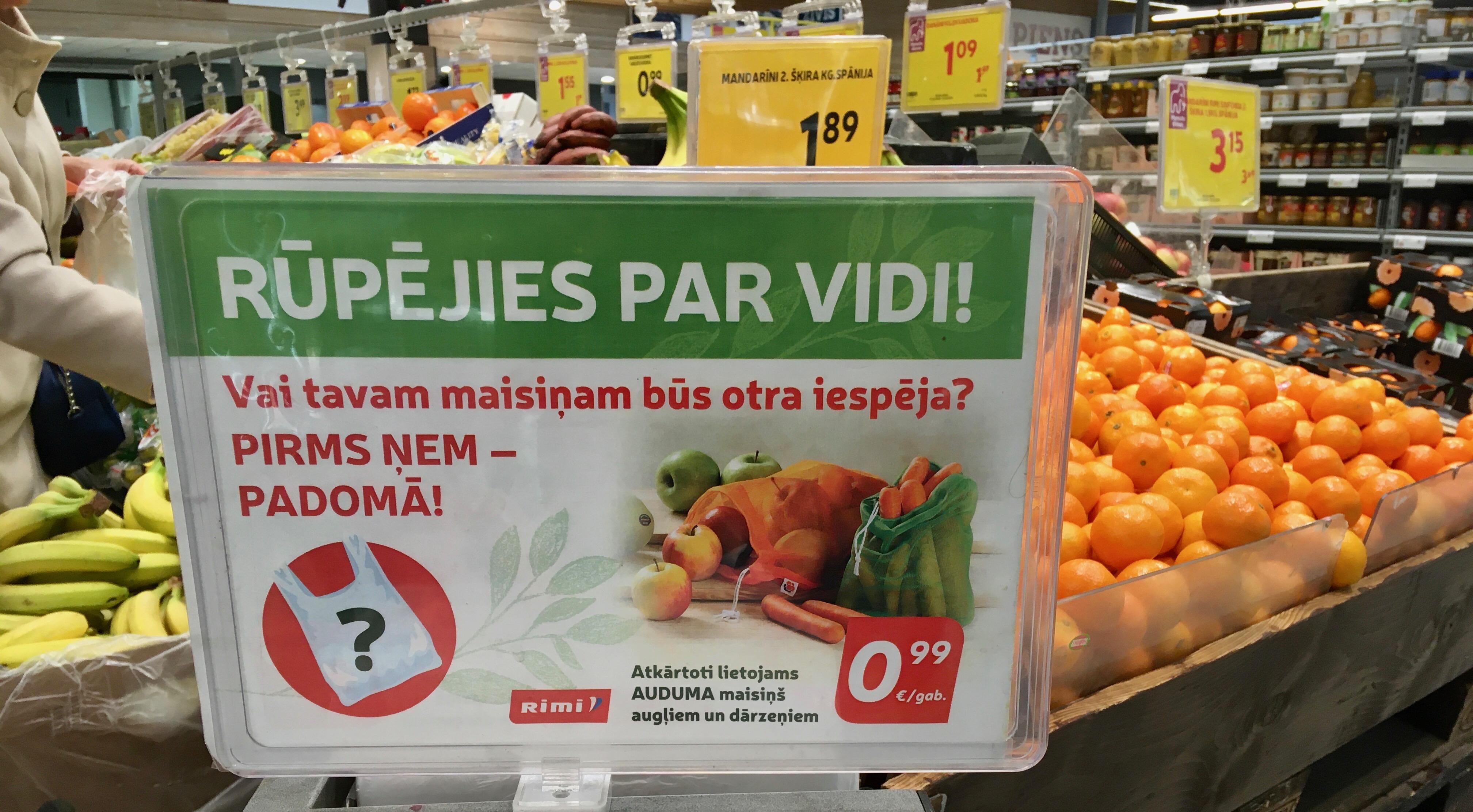 zero waste shopping riga