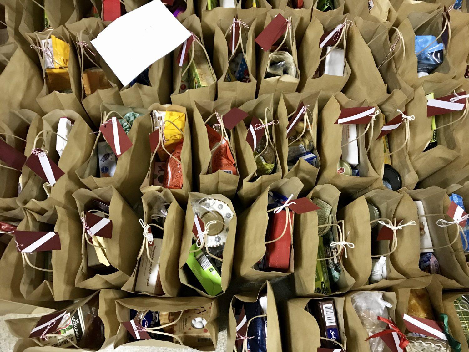 food packs for elderly and vulnerable
